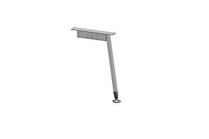 Центральная опора углового стола AOS-0013 (G) - Оптовый поставщик комплектующих «Миниформ»