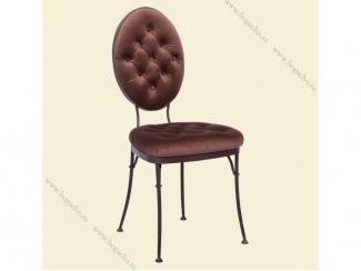 Кованный стул Аделиада  - Мебельная фабрика «Bogacho»
