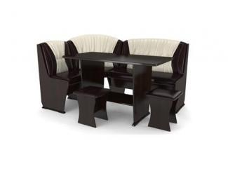 Темный кухонный уголок Консул 4  - Импортёр мебели «RedBlack (Малайзия, Турция, Китай)»