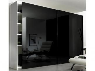 Черный шкаф-купе  - Мебельная фабрика «Симбирский шкаф»