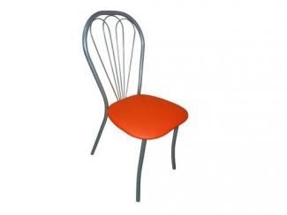 Оранжевый стул Комфорт  - Мебельная фабрика «Металл конструкция»