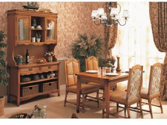 Обеденная зона мебель из ротанга