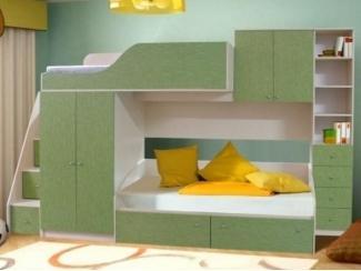 Вместительная мебель для детской Малыш 5 - Мебельная фабрика «Грааль», г. Пенза