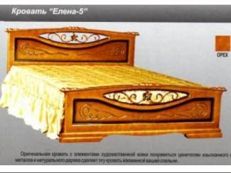 Кровать Елена 5 - Мебельная фабрика «Мебельная Сказка»