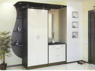 Черно-белая прихожая  - Мебельная фабрика «Интерьер»