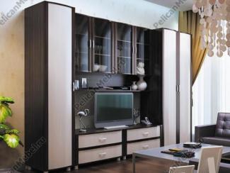 Гостиная стенка глория 001 - Мебельная фабрика «Пеликан»