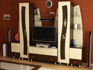 Гостиная стенка Каскад  - Мебельная фабрика «Древо»