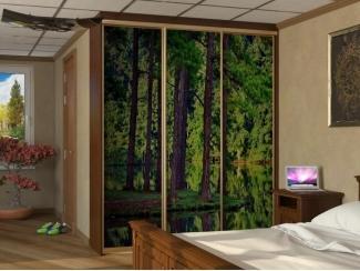 Шкаф-купе 3-D лес