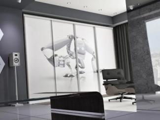 Шкаф - купе для гостиной 11 - Мебельная фабрика «Солнечная ладья»