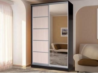 Шкаф-купе с зеркалами Стандарт 1 - Мебельная фабрика «Грааль»