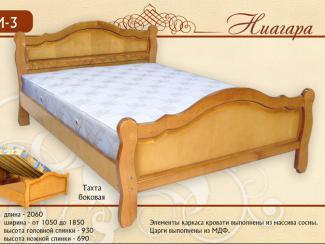 кровать Ниагара М-3 - Мебельная фабрика «Селена»