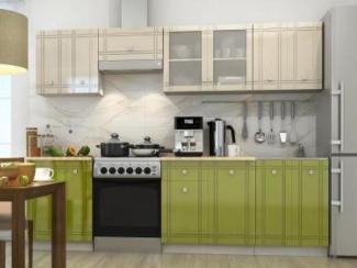 Кухня прямая Сити композиция 2