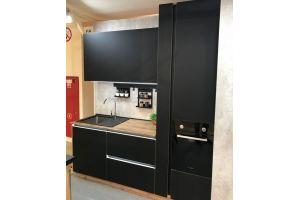 Черная матовая кухня - Мебельная фабрика «Кухни-АСТ»