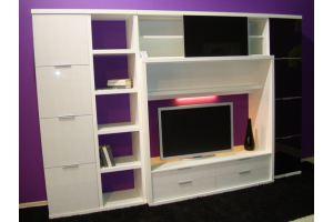 Черно-белая гостиная - Мебельная фабрика «Найди»