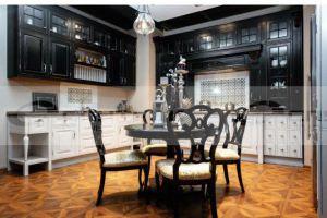 Черно-белая кухня Вильям - Мебельная фабрика «Спутник стиль»