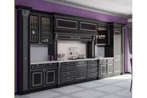 Черный кухонный гарнитур - Мебельная фабрика «МЭК»