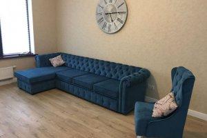 Диван Честер с оттоманкой - Мебельная фабрика «Олимп»