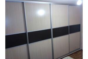 Четырехдверный шкаф-купе - Мебельная фабрика «Народная мебель»