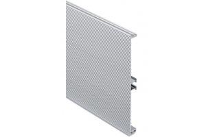 Цоколь алюминиевый R4080 рифленый для кухни Артикул: R4080G50S01UF - Оптовый поставщик комплектующих «Аметист»