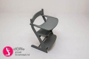 Столик для кормления Усура графит - Мебельная фабрика «Бельмарко»