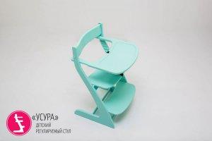 Столик для кормления Усура мятный - Мебельная фабрика «Бельмарко»