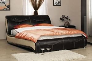 Кровать Камилла ЛДСП - Мебельная фабрика «Сильва»