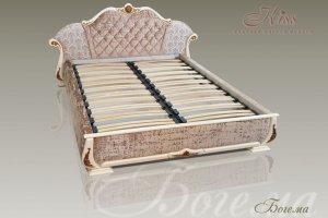 Изысканная кровать Богема - Мебельная фабрика «Kiss»