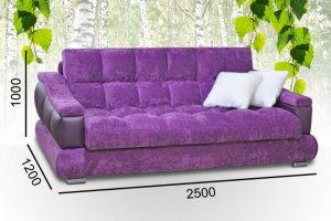 Прямой фиолетовый Голливуд - Мебельная фабрика «Славянская мебель»