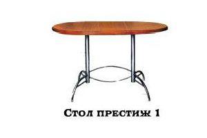 Стол Престиж 1 - Мебельная фабрика «Надежда»