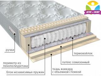 Матрас с независимым блоком Актив - Мебельная фабрика «Вега» г. Краснодар