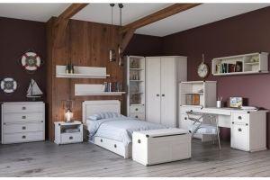 Спальня молодежная Magellan сосна винтаж - Мебельная фабрика «АНРЭКС»