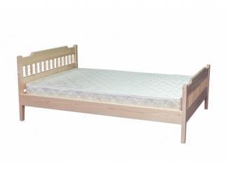 Кровать с двумя спинками сосна - Мебельная фабрика «ТРИАЛ и К»