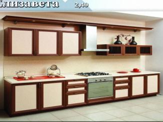 кухня прямая Елизавета - Мебельная фабрика «Регина»