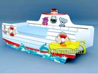 Детская кроватка Кораблик Путешественники - Мебельная фабрика «Рим»