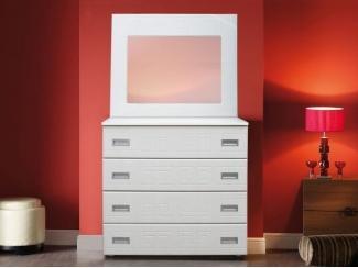 Комод Натали с зеркалом - Мебельная фабрика «Комодофф»