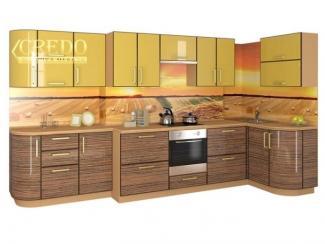 Кухня угловая Итальянский пластик - Мебельная фабрика «Кредо»