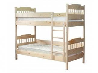 Двухъярусная кровать цвет лак - Мебельная фабрика «ТРИАЛ и К»