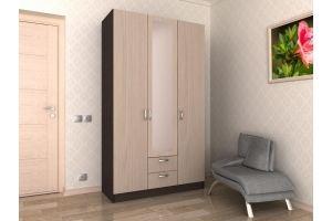 Шкаф распашной 3х дверный с 2мя ящиками №2 - Мебельная фабрика «Гермес»