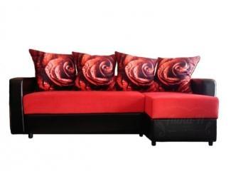 Угловой диван НИКА с оттоманкой - Мебельная фабрика «Лина-Н»