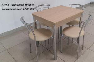 Стол обеденный раскладной Ника - Мебельная фабрика «Milio»