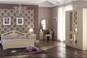 Спальный гарнитур Адель(модульная система) - Мебельная фабрика «Гермес»