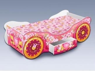 Детская кровать Карета Сакура с ящиком - Мебельная фабрика «Рим»