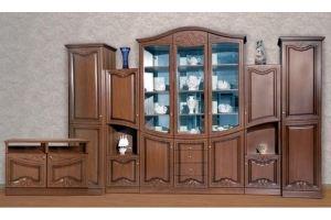 Гостиная стенка Нота Орех L3150 - Мебельная фабрика «Кубань-мебель»
