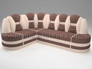 Угловой диван Сенат с пуфами - Мебельная фабрика «Лора»