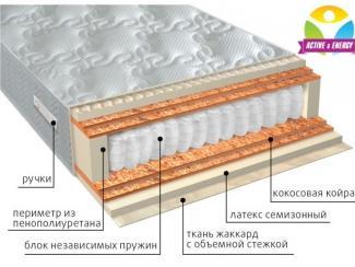 Матрас с независимым блоком Актив микс - Мебельная фабрика «Вега» г. Краснодар
