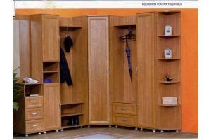Прихожая Визит 1 (модульная система) - Мебельная фабрика «Гермес»