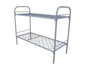 Двухъярусная кровать Эконом - Мебельная фабрика «Металл конструкция»