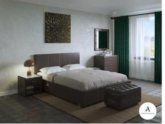 Кровать Атриум - Мебельная фабрика «Архитектория», г. Тольятти