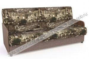 Диван-книжка с ламинатными подлокотниками - Мебельная фабрика «Софа»