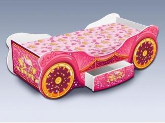 Детская кровать Карета Люкс с ящиком - Мебельная фабрика «Рим»